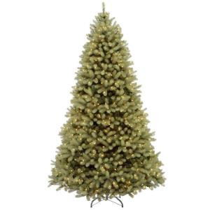 7.5 ft. Feel-Real Downswept Douglas Fir Artificial Christmas Tree with 750 Color Choice LED Lights-PEDD4-312LD-75S 205982787