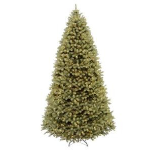 9 ft. FEEL-REAL Downswept Douglas Fir Artificial Christmas Tree with 900 Clear Lights-PEDD4-312-90 204153706