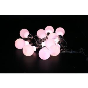 Alpine 10-Light LED White String Light Edison Bulbs Set (Set of 10)-EUT104WT-10 207140331