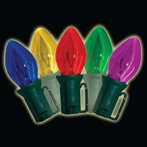 Brite Star Old-Fashioned 25-Lightt C9 Multi-Color Light Set (Set of 2)-37-860-20 205116355