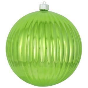 Christmas by Krebs 200 mm Limeade Ripple Ball (Pack of 6)-CBK30675 206214904