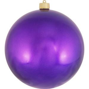 Christmas by Krebs 200 mm Vivacious Purple Shatterproof Ball (Pack of 6)-CBK26011 204509853