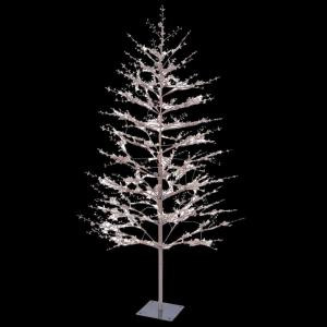 GE 5 ft. Brown Winter Berry Branch Tree with C4 Color Choice LED Lights-23503HD 205146864