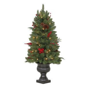 Martha Stewart Living 3 ft. Winslow Fir Potted Artificial Christmas Tree with 50 Clear Lights-TV30P4598C00 205915405