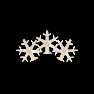 Martha Stewart Living 50-Light LED Warm White Snowflake Light Set-TY823-1415 205092325