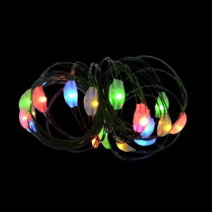 Martha Stewart Living 9 ft. 36-Light Battery Operated LED Multi-Color Ultra Slim Wire (Bundle of 2)-BA03-M036-A1B 202938522
