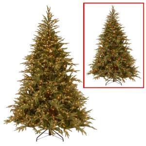 National Tree Company 7.5 ft. Frasier Grande Artificial Christmas Tree with Dual Color LED Lights-PEFG4-308LD-75 205331394