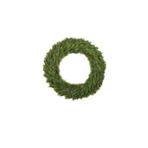 Santa's Workshop 36 in. Mixed Pine Artificial Wreath with Lights-14652 206516541