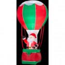 12 ft. H Inflatable Santa in Hot Air Balloon-86931X 204371865