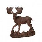15.6 in. H Resin Moose Figurine-2220060 206614479