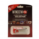 2 in. Window FX Christmas Time USB Collection with 6 Videos-75603 206852349