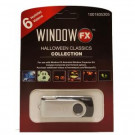 2 in. WindowFX Halloween Classics Collection USB with 6 videos-75605 206852382