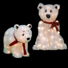 24 in. and 18 in. Pre-Lit LED Polar Bears Set-96597_SET_HD 206955590
