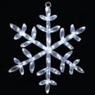 24 in. 20 LED White Tube Snowflake Light-46-726-00 204635312