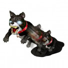27 in. Life Size Animated Jumping Dog-56039 206854999