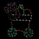 31 in. Pro-Line LED Wire Decor Bear Train Car-96569_MP1 206949069
