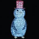32 in. LED Spun Glitter Penguin Wireframe Silhouette-46-220-00 204635333
