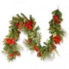 6 ft. Hydrangea Pine Garland-RAC-1455G6 300330551