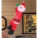 Airflowz 6 ft. Animated Inflatable Climbing Santa-74667 206996261