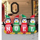 Airflowz 6 ft. Inflatable Sweater Penguins-56871 206996189