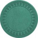 Aqua Shield Aquamarine 35 in. Round Pine Trees Under the Tree Mat-20293633535 206317259
