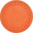 Aqua Shield Orange 35 in. Round Pine Trees Under the Tree Mat-20293673535 206317263