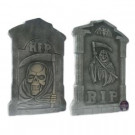 Brite Star 21 in. Spooky Tombstone Sculptures (Set of 2)-97-419-00 203040680
