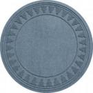 Bungalow Flooring Aqua Shield Bluestone 35 in. Round Pine Trees Under the Tree Mat-20293583535 206317255