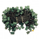 C9 100 ft. Cord with Sockets (5-Set/Carton)-21-100 204796491