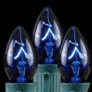 C9 Blue Replacement Christmas Light Bulbs - Transparent (Box of 250)-14-474 207141958
