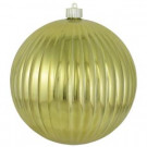Christmas by Krebs 200 mm Gilded Gold Shatterproof Ripple Ball (Pack of 6)-CBK30669 206461209