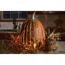 Desert Steel 12 in. x 18 in. Orange Great Pumpkin Lantern-411-000 205442172
