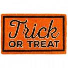 Entryways Trick or Treat 18 in. x 30 in. Coir Door Mat-2071S 207050690