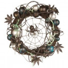 National Tree Company 18 in. Halloween Wreath with Ornaments and Black Spider in the Center-RAH-W030212 207123917