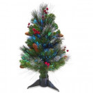 National Tree Company 2 ft. Fiber Optic Crestwood Spruce Artificial Christmas Tree-SZCW7-126-20 300496219