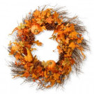 National Tree Company 28 in. Pumpkin Wreath-RAHV-LFG31293 207123492