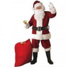 Rubie's Costumes Extra Large Crimson Regal Plush Santa Suit Adult Costume-23371XL 204424109