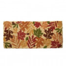 TAG Estate Harvest Leaves 18 in. x 40 in. Coir Mat-TAG95567 300225480